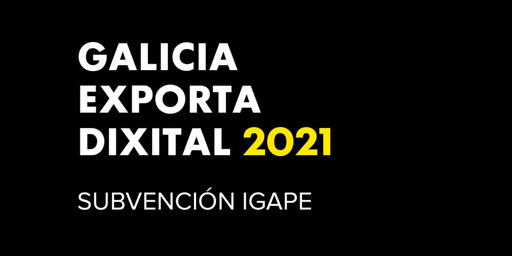 Galicia Exporta Dixital 2021 Ayudas | ICON